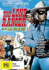 Lone Ranger, The: And The Lost City Of Gold on DVD