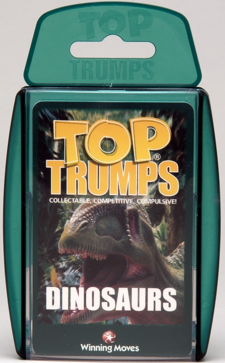 Top Trumps Dinosaurs Toy At Mighty Ape Nz