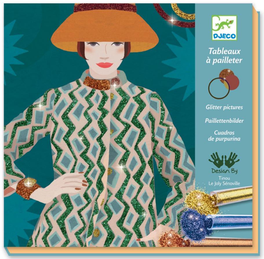 Djeco: Design - Glitter Boards Fashion image