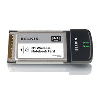 Belkin N1 Wireless NoteBook Card image