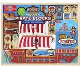 ArchiQuest: Wooden Pirate - Blocks & Storybook Playset