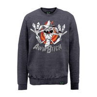 Rick and Morty: Scary Terry Aww B*tch Sweatshirt (Medium)