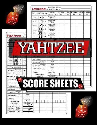 Yahtzee Score Sheets by C2c Publishing