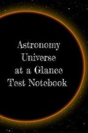 Astronomy Universe at a Glance Test Notebook by Lars Lichtenstein image