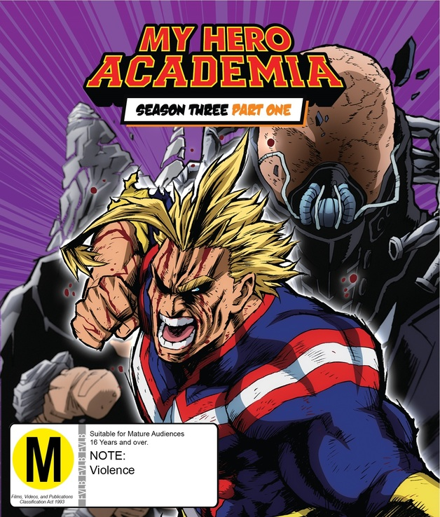 My Hero Academia - Season 3: Part 1 Limited Edition Blu-ray & DVD Combo on DVD, Blu-ray