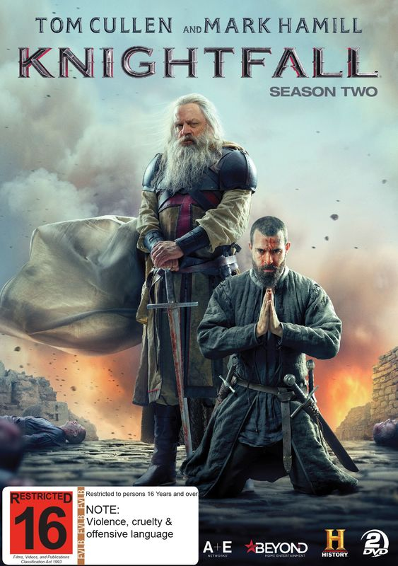 Knightfall - The Complete Second Season on DVD