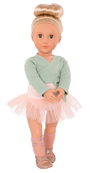 "Our Generation: 18"" Ballet Doll - Viola (Green) image"
