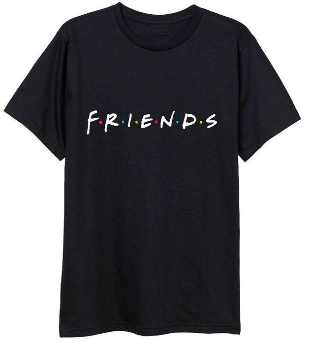Friends: Logo - Adult T-Shirt (Size: L)