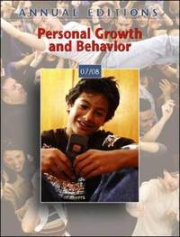 Personal Growth and Behavior: 2007-2008 by Karen Grover Duffy image