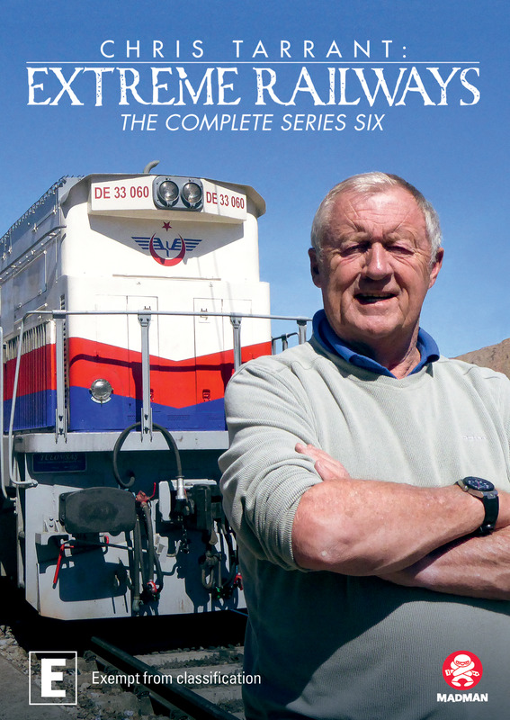 Chris Tarrant's Extreme Railways: Series 6 on DVD