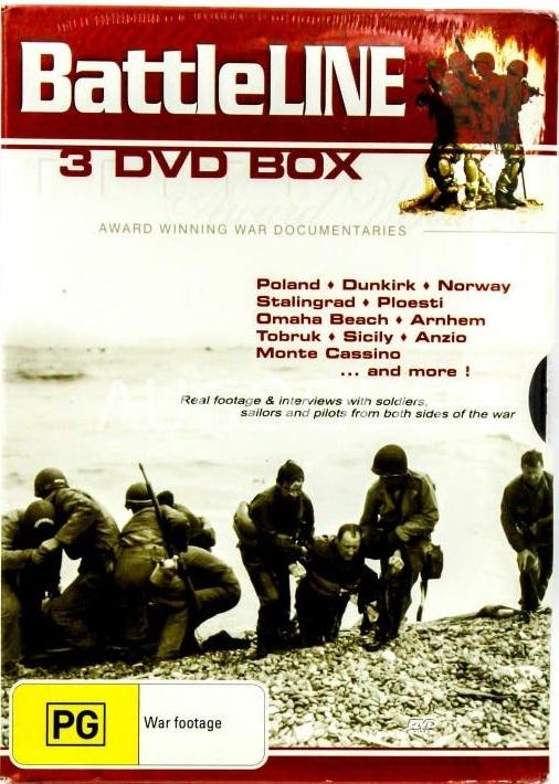 Battleline (3 Disc Box) on DVD
