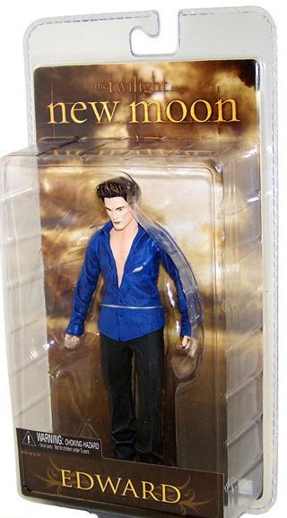 Twilight New Moon Series 2 Action Figure - Edward Cullen (No Sparkles)