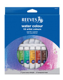Reeves Water Colour Paints - Set of 18