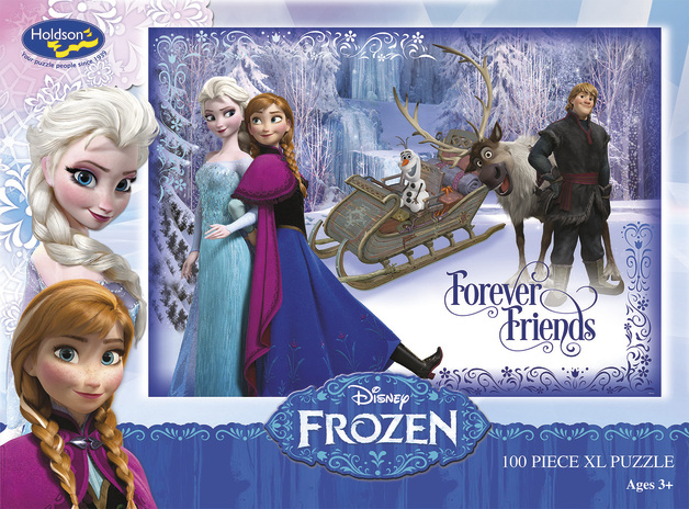 Disney Frozen 100 Piece Boxed Puzzle - Forever Friends