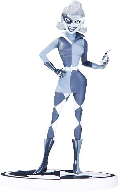 """Batman - Harley Quinn (Black & White) - 7"""" Statue"""