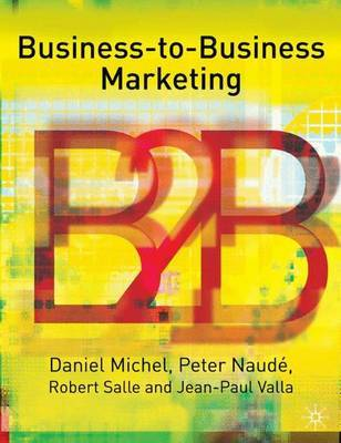 Business-To-Business Marketing by Daniel Michel image