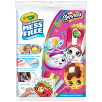 Crayola: Color Wonder Mess Free Activity Pack - Shopkins