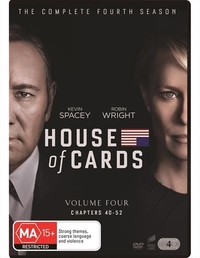 House Of Cards Season 4 on DVD