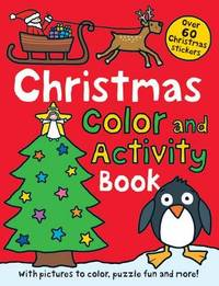 Christmas Preschool Color and Activity Book by Roger Priddy
