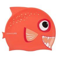 Sunnylife Swimming Cap - Fishy Red
