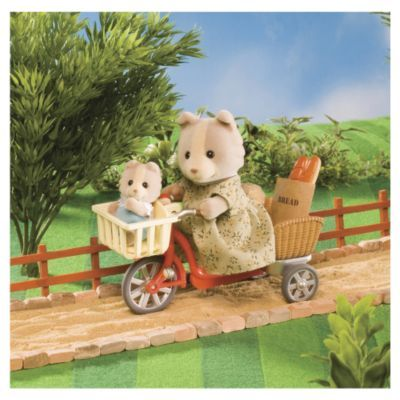 Sylvanian Families: Cycling with Mother & Baby image
