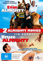 Evan Almighty / Bruce Almighty - 2 Almighty Movies (2 Disc Set) on DVD
