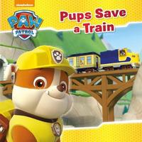 Nickelodeon PAW Patrol Pups Save a Train by Parragon Books Ltd image
