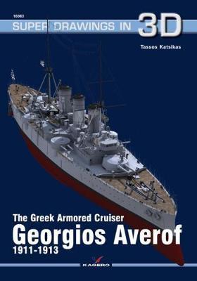 The Greek Armored Cruiser Georgios Averof 1911-1913 by Tassos Katsikas