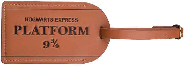 Harry Potter: Leather Luggage Tag - Platform 9 3/4