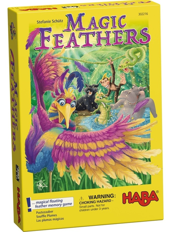 Magic Feathers - Children's Game
