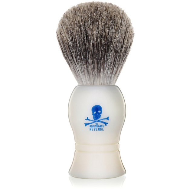 Bluebeards Revenge - Badger Shaving Brush (White)