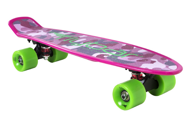 "Flybar: Grip Tape Cruiser - 22"" Skateboard (Pink Camo)"