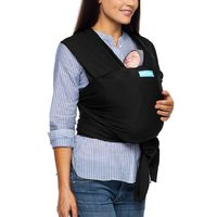 Moby Evolution Baby Carrier - Black