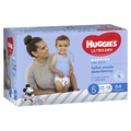 Huggies Ultra Dry Nappies Jumbo Pack - Size 5 Walker Boy (64)