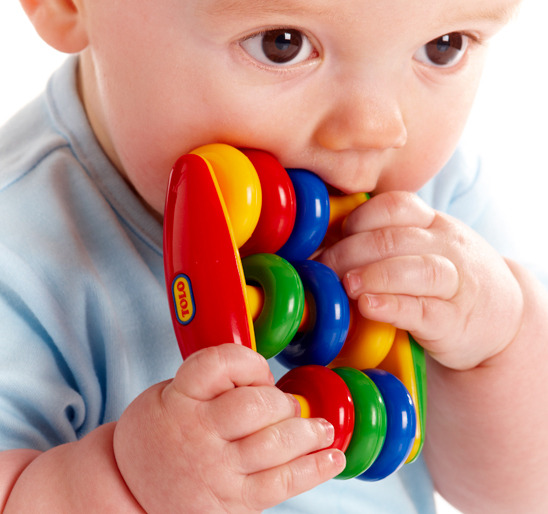 Tolo Abacus Rattle (Bright Colours) image