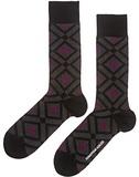 Jonathan Adler Diamond Men's Socks