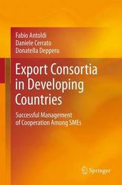 Export Consortia in Developing Countries by Fabio Antoldi