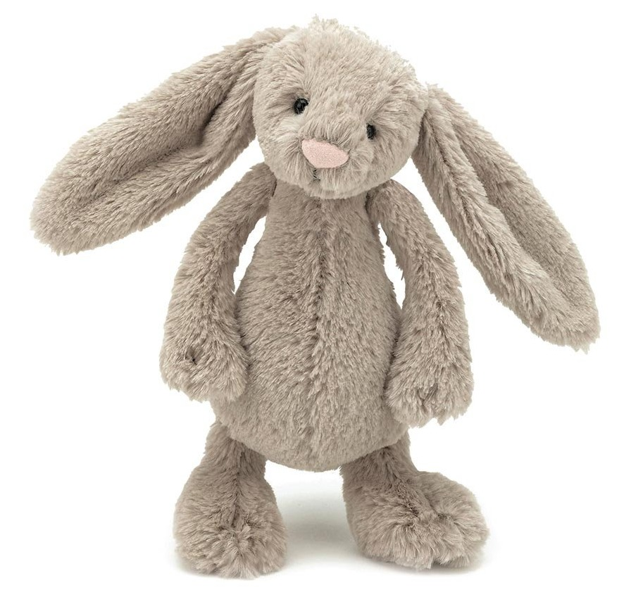 Small Toy Rabbits : Jellycat bashful bunny beige toy at mighty ape nz