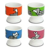 Jane Foster Animal Magic Egg Cups (Set of 4)