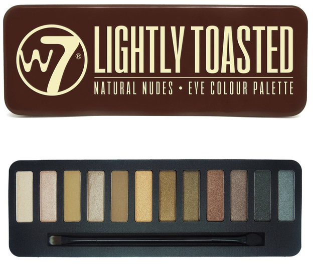 W7 Lightly Toasted Eyeshadow Compact