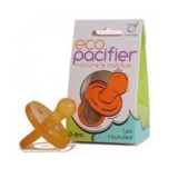 ecoPacifier: Natural Rubber Dummy - Rounded (6 mths +)