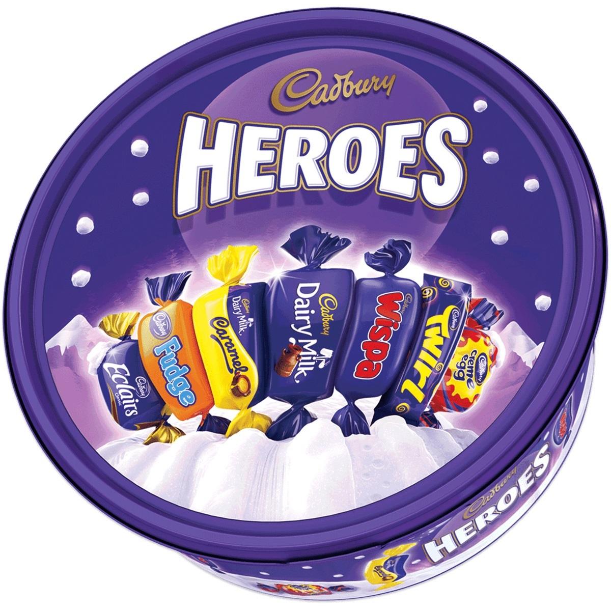 Cadbury Heroes Tub (660g) image