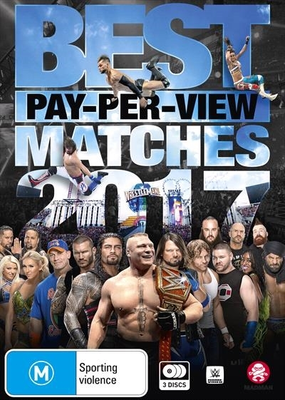 WWE: Best PPV Matches 2017 on DVD image