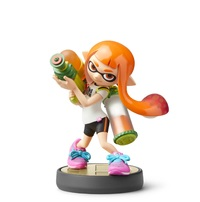 Nintendo Amiibo Inkling - Super Smash Bros Ultimate for