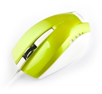 E-Blue Wired USB Gaming Mouse - Green
