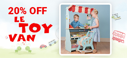 20% off Le Toy Van!