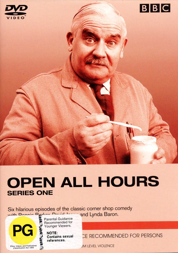 Open All Hours - Series 1 on DVD image