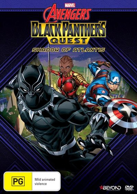 Avengers Assemble: Black Panther's Quest - Shadow Of Atlantis on DVD