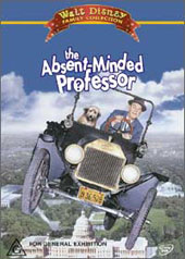 Absent Minded Professor (1961) on DVD