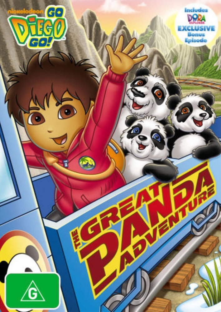 Go Diego Go!: The Great Panda Adventure on DVD image